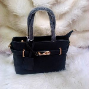 Latest style female cross body handbag -Black