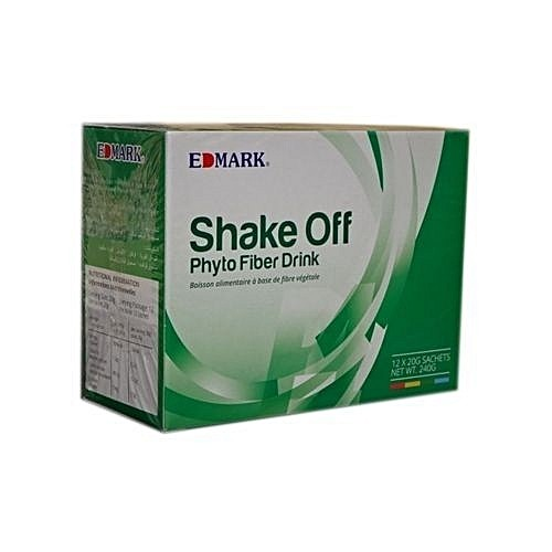 ORIGINAL EDMARK SHAKE-OFF PHYTO FIBER POWDER A BOX OF SACHETS -240g