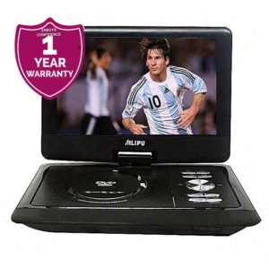 DVD Player, 3010, 12.5'', DVD/DVD+RW/VCD/MP3/MP4/CD+RW/JPEG/DIVX/AVI/MPG/VOB Formats - Black