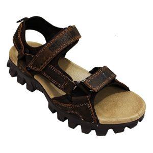 Men's Velcro Sandals - Brown