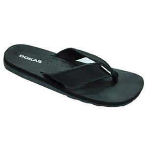 Soft Insole Flip Flops - Black