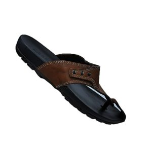 MEN ORIGINAL LEATHER AND RUBBER SANDALS