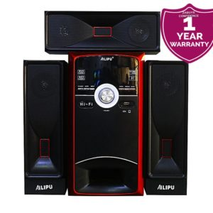 Ailipu 2304 - Multimedia Speaker/Woofer - Black, Red