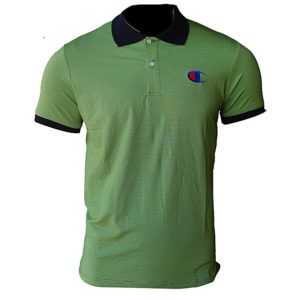 Short Sleeve Polo T-Shirt - Green