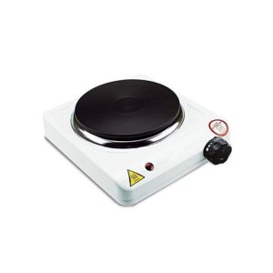 Single Hot Plate, 1500w - White