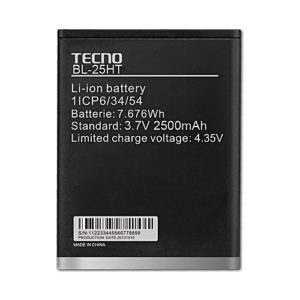 Tecno Battery BL-20AT 2020mAh Battery For H7, Mp, M6