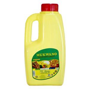 MUKWANO 1 LITER COOKING OIL