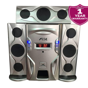 FQL FL-F3L 3.1 X - Bass Bluetooth Speaker FL-F3L -  Silver