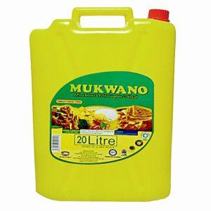 MUKWANO 20 LITER VEGETABLE COOKING OIL