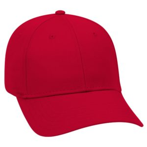 RED PLAIN CAP