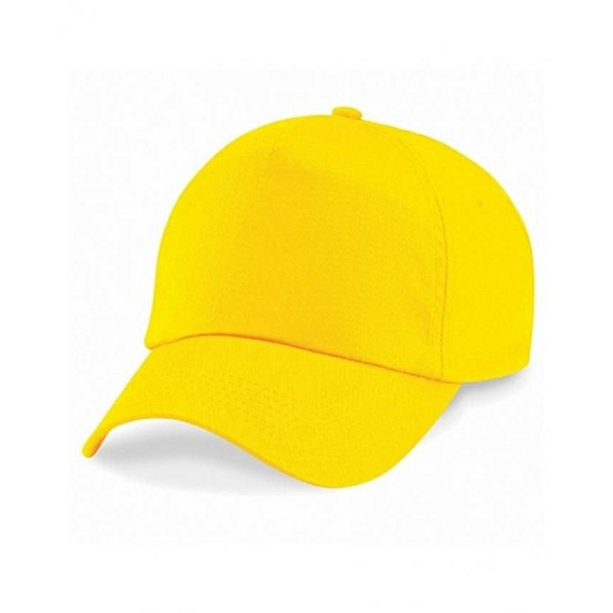 YELLOW PLAIN CAP