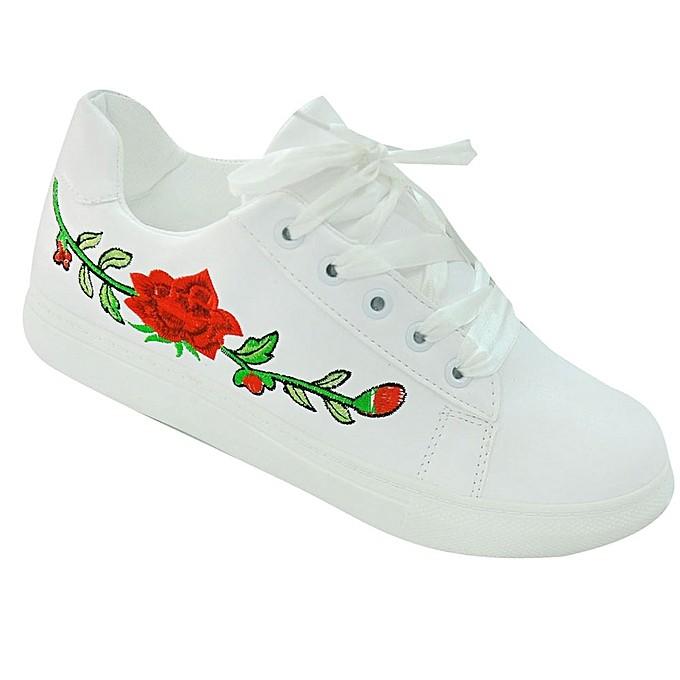FLORA WHITE SNEAKERS