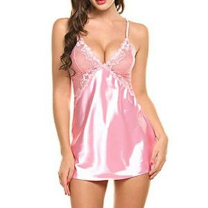 SEXY PINK NIGHTDRESS