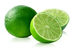 2Pcs Of Green Lemon  Fruit
