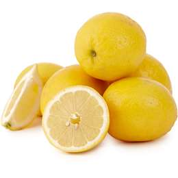 6Pcs Of Yellow Lemon