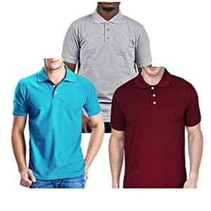 Mens polo shirt 3 pack