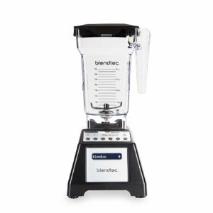 Total Classic Original Blender with FourSide Jar (75oz volume/32 oz Wet/Dry Fillable), Professional-Grade Power, 6 Pre-programmed Cycles, 10-speeds, Black