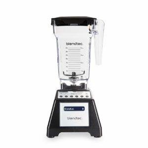 Total Classic Original Blender with FourSide Jar (75oz volume/32 oz Wet/Dry Fillable), Professional-Grade Power, 6 Pre-programmed Cycles, 10-speeds, Black