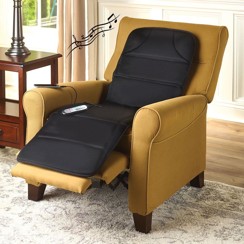 Back Massager Massage Chair for Back, Neck and Thigh Vibration Car Seat Cushion with 8 Motor Vibrations 4 Modes 3 Speed Home Office Car