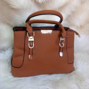 Tote Women Designer Hand Bag And Shoulder bag (Brown)