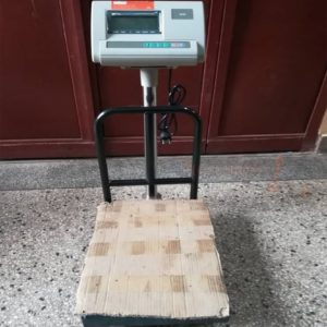 Platform scales with Checked plate in Kampala Uganda