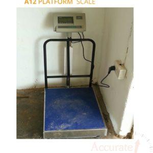 A12 Platform scales in Wandegeya Uganda