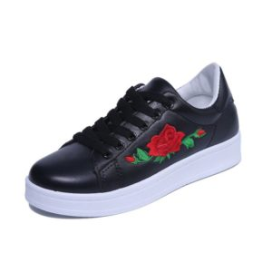 EMBROIDERED FLORAL WOMEN SNEAKERS