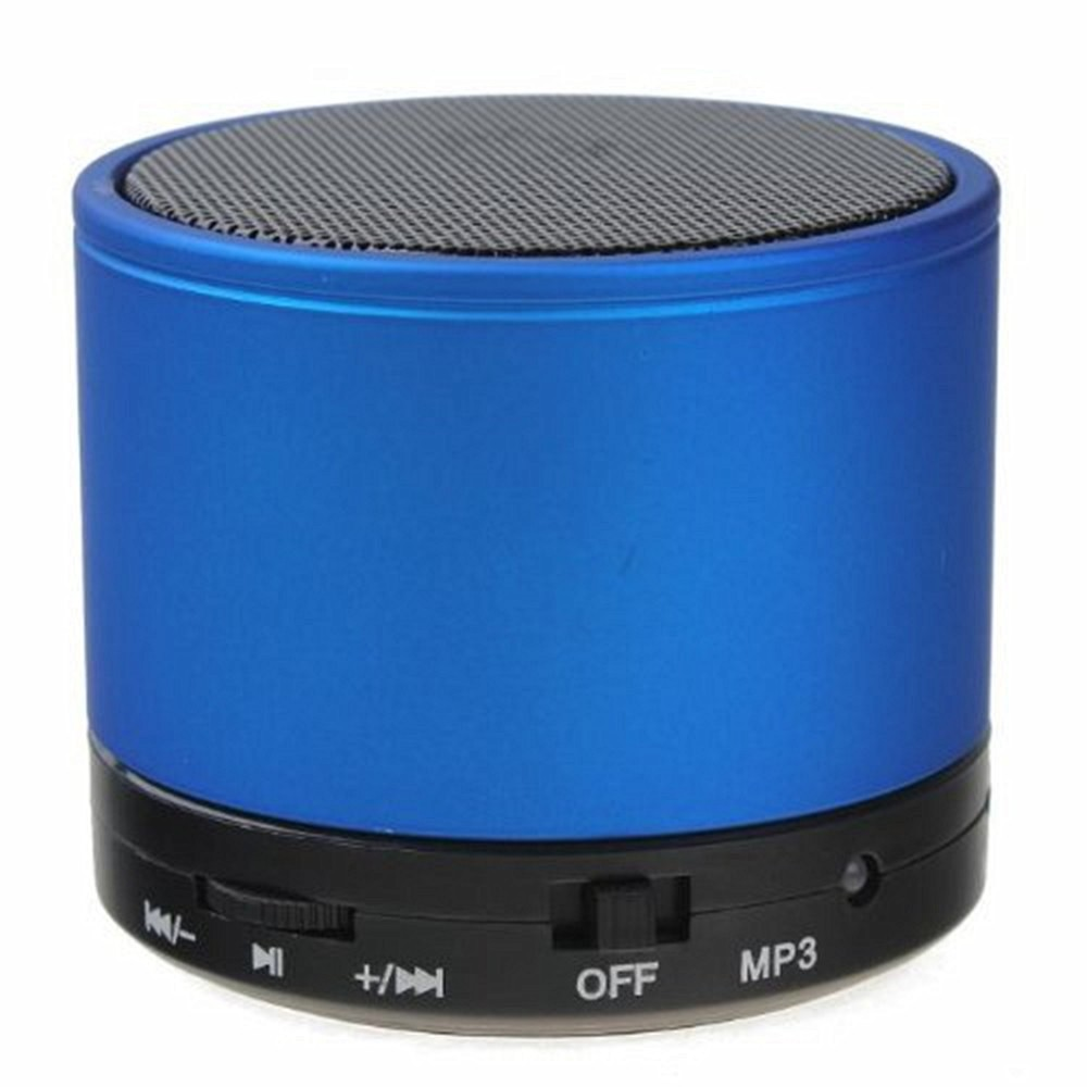 PORTABLE BLUETOOTH SPEAKER - BLUE