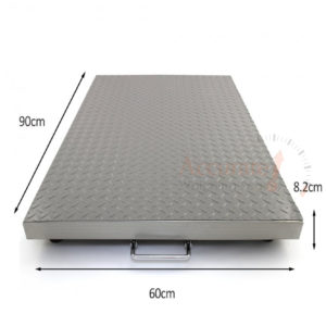 Floor industrial weighing scale with remote control display hot prices Busia