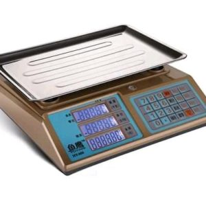Calibrated shop 15kg table scales