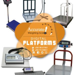 What is the cost of Waterproof platform scales in Kampala Uganda