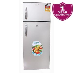 ICECOOL BCD 250 Litre Double Door Refrigerator - Silver