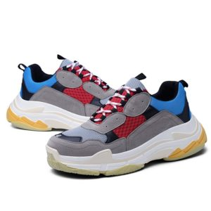 Outdoor Casual  Lace-Up Shoes For Men Rubber soles