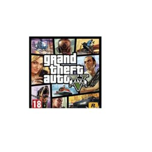 Grand Theft Auto Five for PS4 GTA V