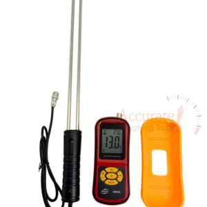 Digital grain moisture meters with double pins for granary stores in village farms Kitgum, Uganda