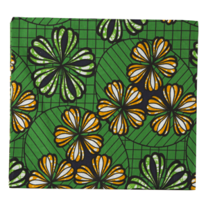 KITENGE DRESS MATERIAL -2 YARDS DESIGN 124
