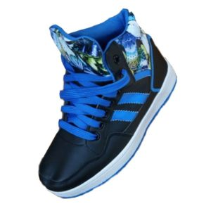 KIDS BLUE/BLACK SNEAKER