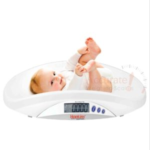 Digital baby weighing scales wit weight saving functions in store wandegeya