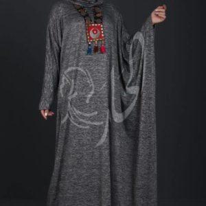MUSLIM DRESS/SHARIAH GREY