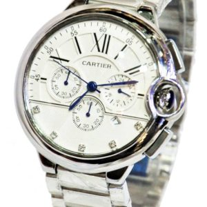 CARTIER SILVER ORIGINAL MEN WATCH