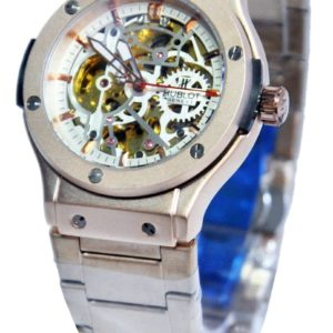HUBLOT ORIGINAL CREAMY SILVER MEN WATCH