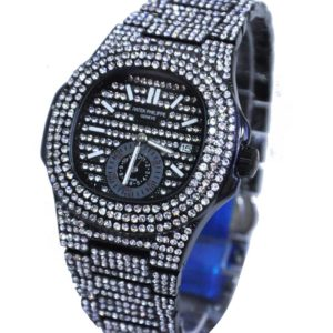 FANCY PATEX BLACK UNISEX WATCH