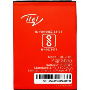 itel BL-21BI Replacement Battery For A12 / S31 / 1502 / 1503 / 1507