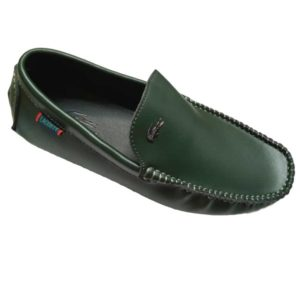 LACOSTE MOCCASIN BLACK MEN SHOES