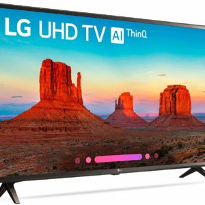 LG SMART LED HD TV WITH HD RECEIVER -43 INCH