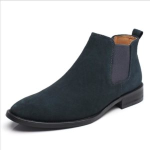 Vangelo Side Zipper High Ankle British Men's Shoe Black