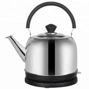 Sun Beam Electric Kettle, Cordless Tea Kettle, Stainless Steel Water Kettle with Auto Shut Off,4.0L (silver-2)