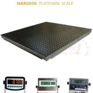 Heavy duty Floor weighing scales with dimensions of 80x60cm Matugga