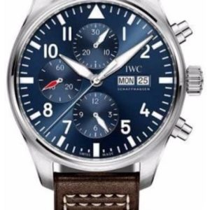 IWC ORIGINAL LEATHER MEN WATCH