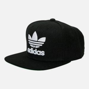 Adidas Trefoil Snap Chain Cap Black
